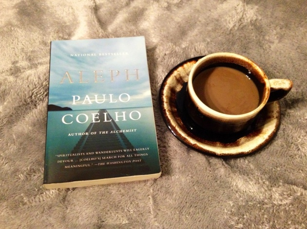 Good book and a cup of coffee. Perfect Fall evening